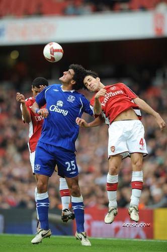 Arsenal vs. Everton, 18th Octoboer,2008