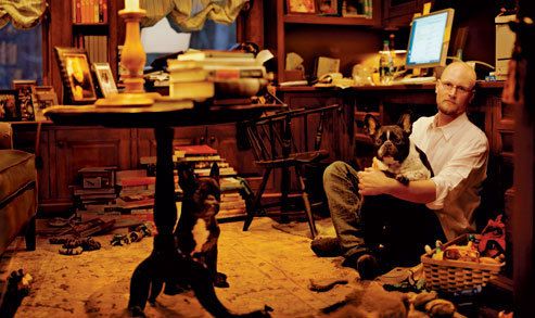 Augusten Burroughs in Vanity Fair