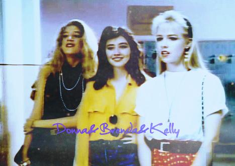 Brenda, Kelly, Donna