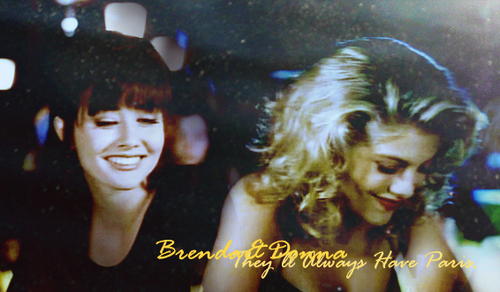Brenda and Donna - beverly-hills-90210 Fan Art