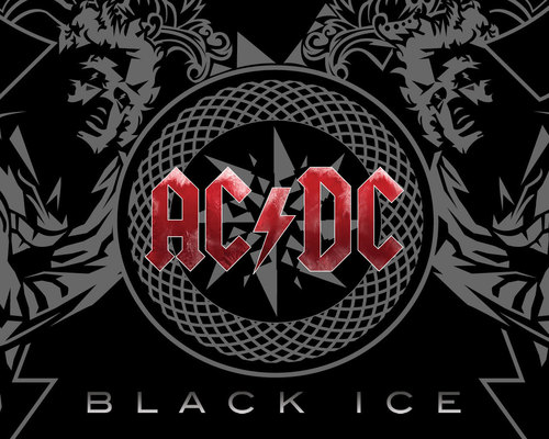 AC/DC wallpaper entitled Black Ice