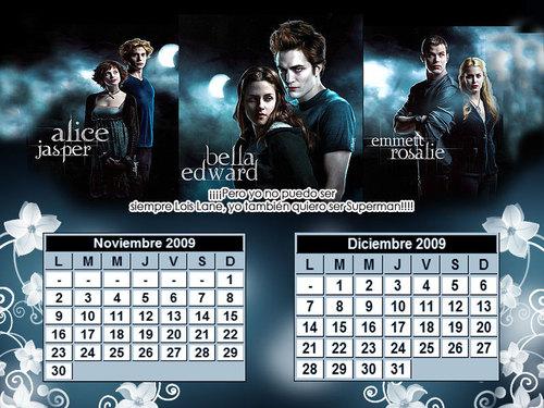 Calendario 2009 - Twilight