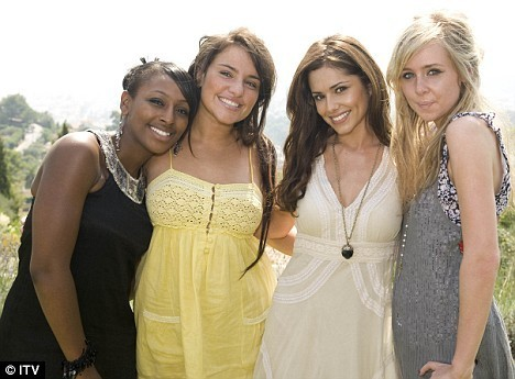 Cheryl and X Factor Girls