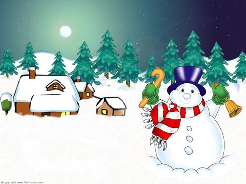 Christmas achtergronden
