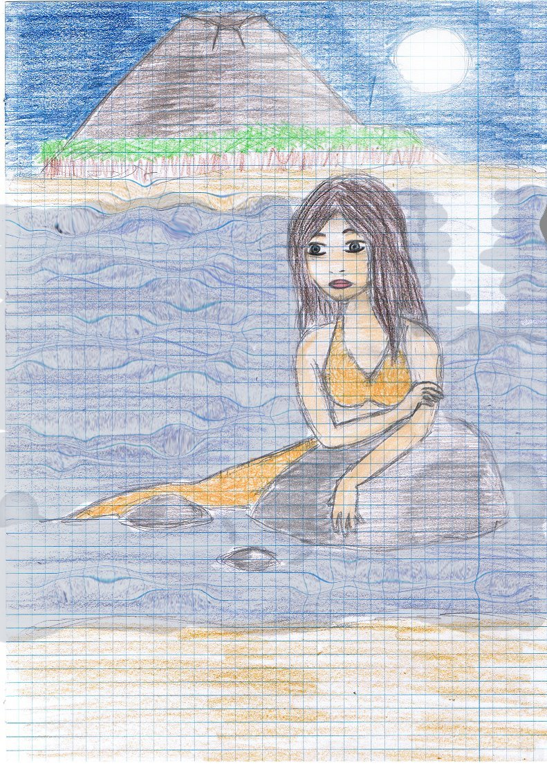 Cleo and Mako island - h2o-just-add-water fan art