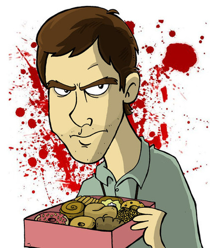 Dexter and the donuts