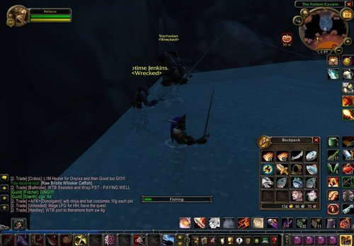 Fishing in Ironforge