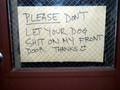 Funny Sign - web-humor photo