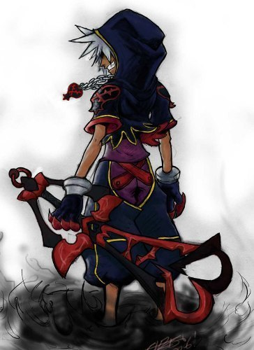 Kingdom Hearts wallpaper possibly with Anime called HEARTLESS SORA