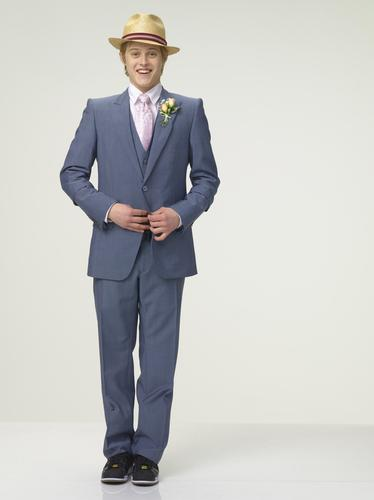 High School Musical wallpaper with a business suit, a suit, and a pinstripe called High School Musical 3 - Lucas Grabeel