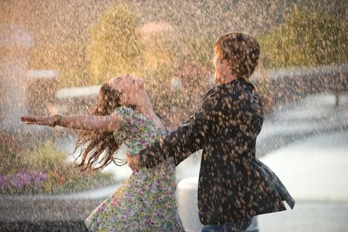 High School Musical wallpaper with a fountain called High School Musical 3 Publicity Stills
