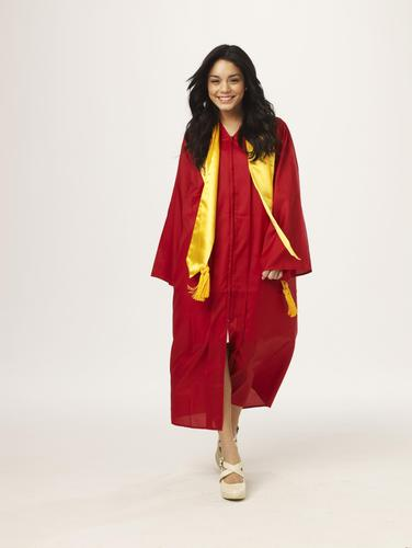 High School Musical wallpaper probably containing a caftan titled High School Musical 3 - Vanessa Hudgens
