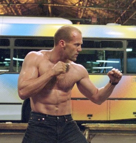Jason Statham wallpaper probably containing a bingkah, cowok and a six pack titled Hotttttt