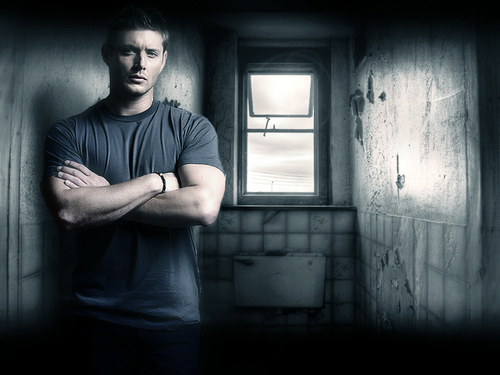 Jensen Ackles Wallpaper Probably With A Window Seat Cell And Shower Called