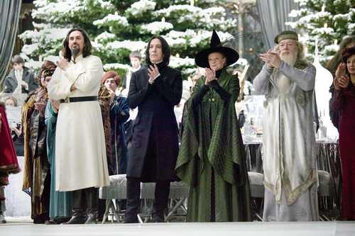Karkaroff, Snape, McGonagall & Dumbledore