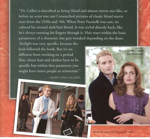 Large, scanned images from Twilight Illustrated Companion