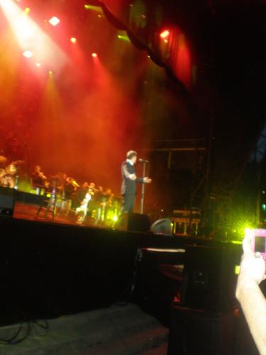 Michael Bublé-Dublin 음악회, 콘서트