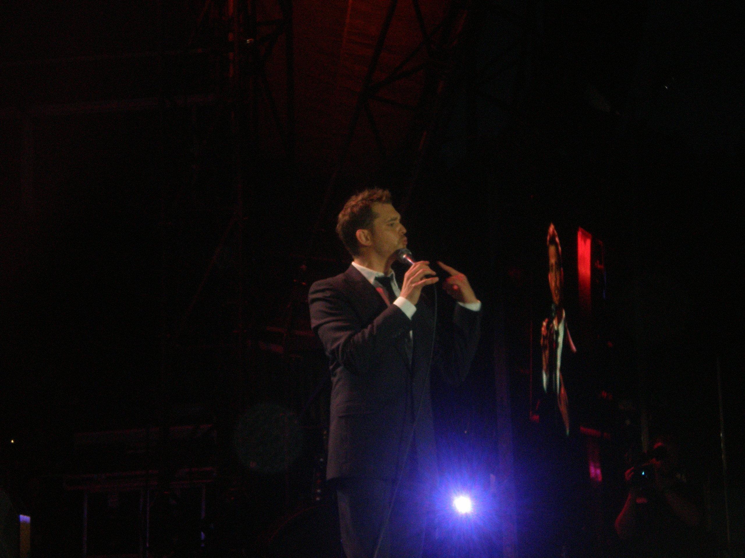 Michael Bublé-Dublin buổi hòa nhạc