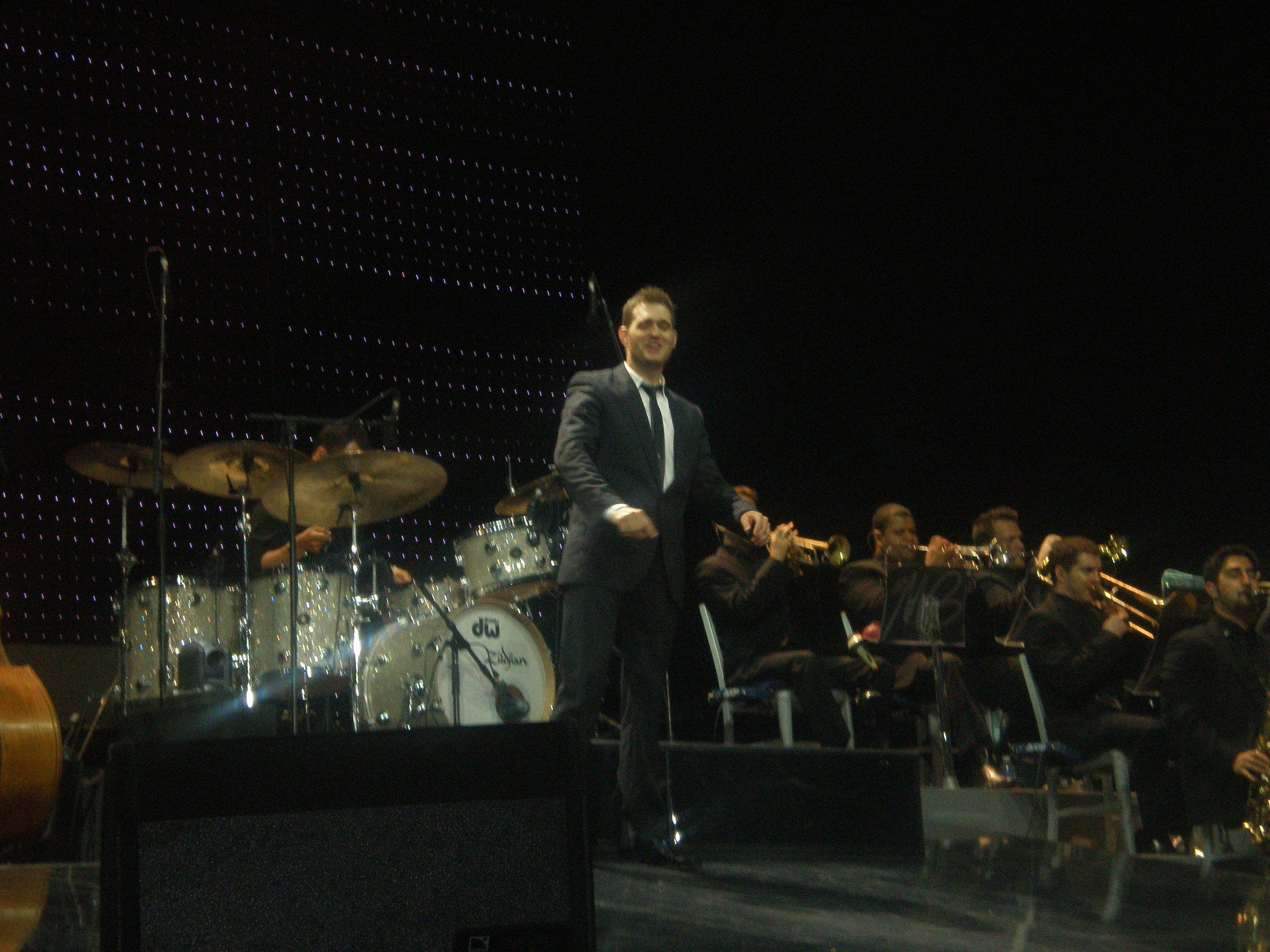 Michael Bublé-Dublin konsert