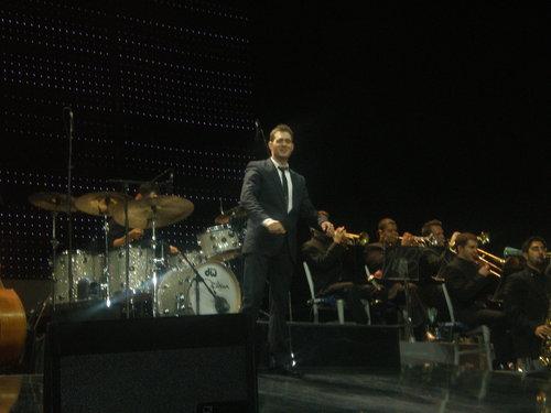 Michael Bublé-Dublin show, concerto