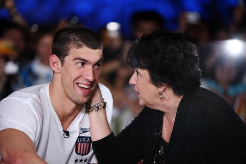 Michael Phelps پیپر وال probably containing a portrait entitled Michael and Family