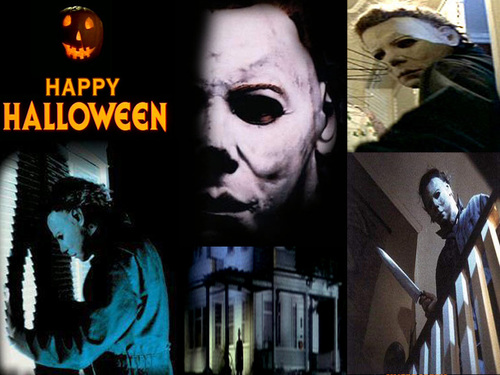 Michael Myers wallpaper possibly with anime entitled Michael