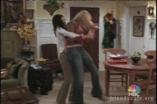 Monica and Phoebe