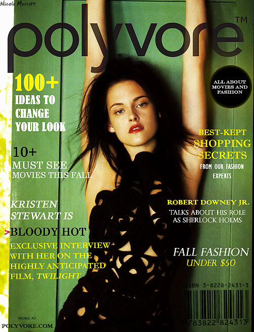 "Polyvore ""Magazine""- Elle ♪♫ - Kristen 503x656"