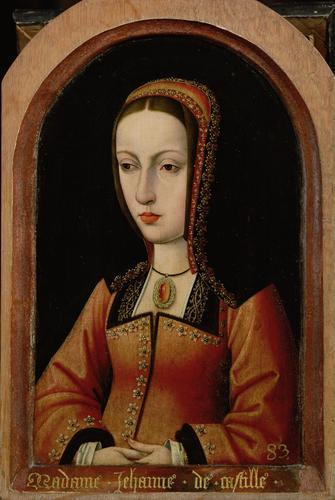 queen Joanna of Castile, known as Joanna the Mad
