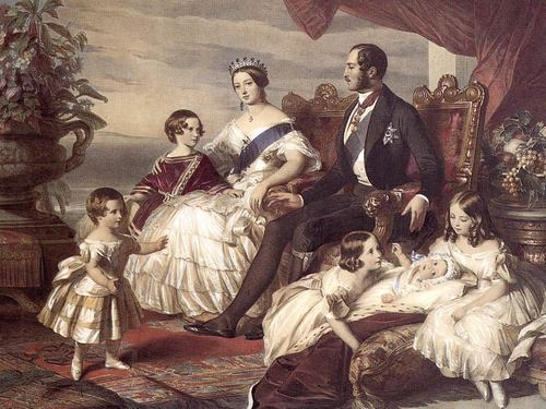 কুইন Victoria, Albert and Family