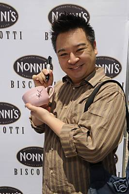 Rex Lee&#39;s PINK MUG on auction from 99 cents - entourage Photo