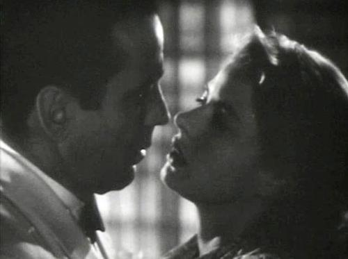 Famous Kisses wallpaper entitled Rick and Ilsa