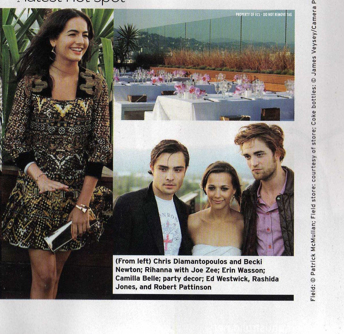Rob in Elle Mag