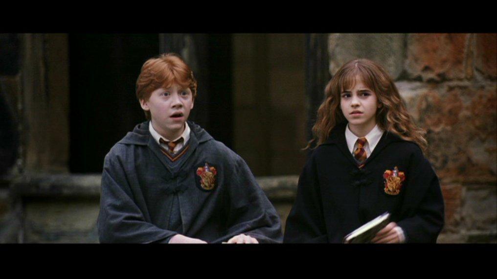 Ron & Hermione Screencaps [Chamber of Secrets] - Romione ...