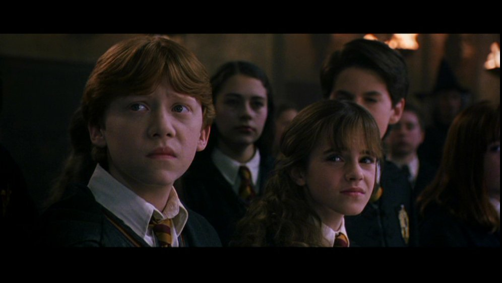Ron Amp Hermione Screencaps Chamber Of Secrets Romione