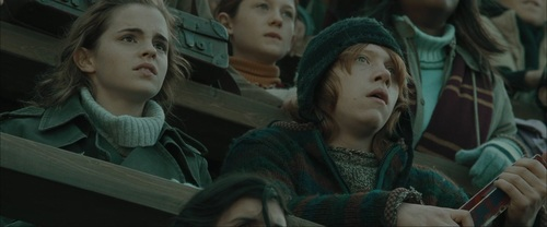 Ron & Hermione Screencaps [Goblet of Fire] - romione Screencap