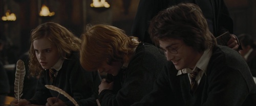 Romione wallpaper entitled Ron & Hermione Screencaps [Goblet of Fire]