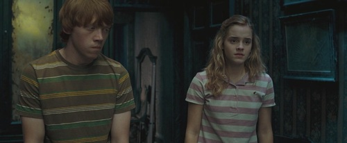 Ron & Hermione Screencaps [Order of the Phoenix] - romione Screencap