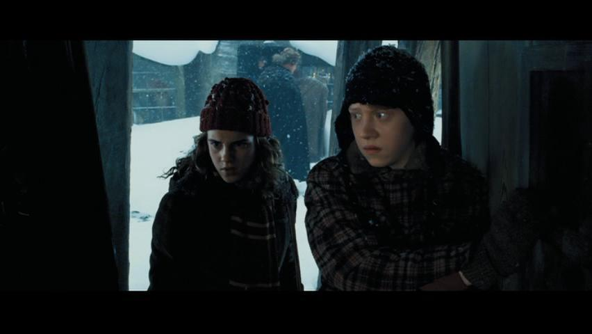 Ron & Hermione Screencaps [Prisoner of Azkaban]