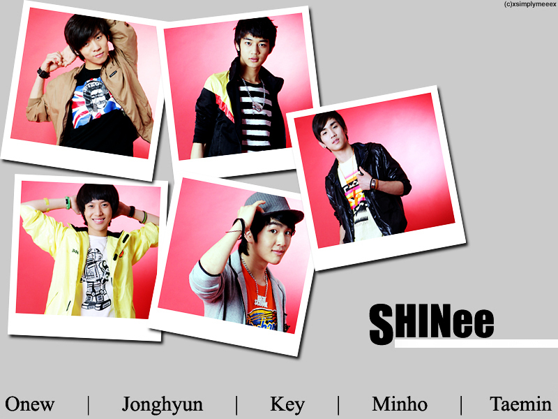 Shinee SHINee Wallpapaer