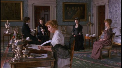 Sense and Sensibility 바탕화면 probably with a drawing room, a brasserie, and a drawing room entitled Sense & Sensibility 1995