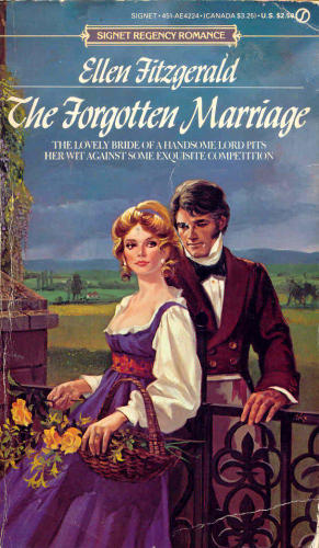 The Forgotten Marriage by Ellen Fitzgerald