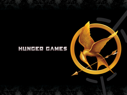 The Hunger Games wallpaper possibly with a sign called The Hunger Games