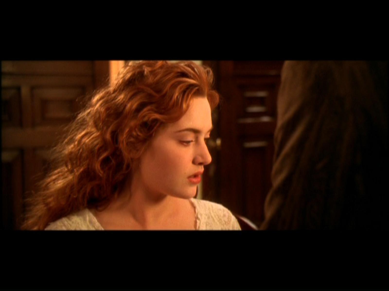 Kate Winslet Titanic Painting Scene Titanic screencap titanic