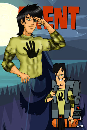 Total Drama Island Hintergrund with Anime called Trent