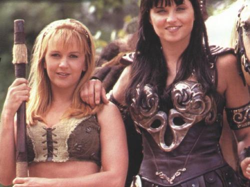 Lucy Lawless wallpaper possibly containing a portrait called Xena pics