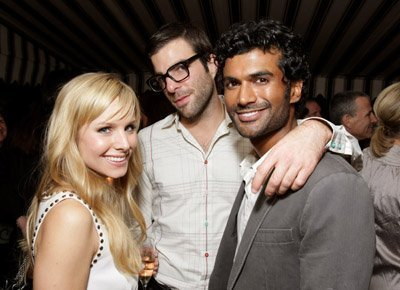 Zachary Quinto and Kristen bel, bell
