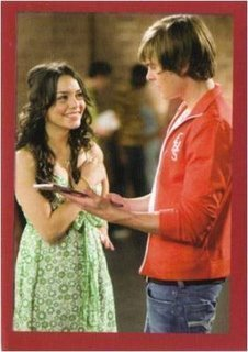 Zac Efron & Vanessa Hudgens wallpaper containing a portrait titled Zanessa in HSM 3 Stills