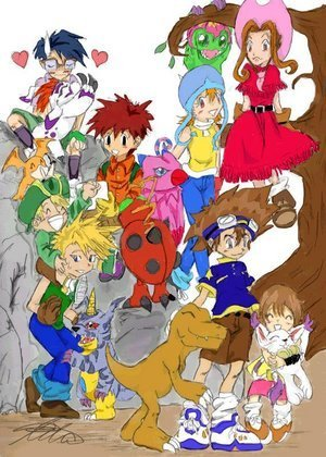 digimon advanture group