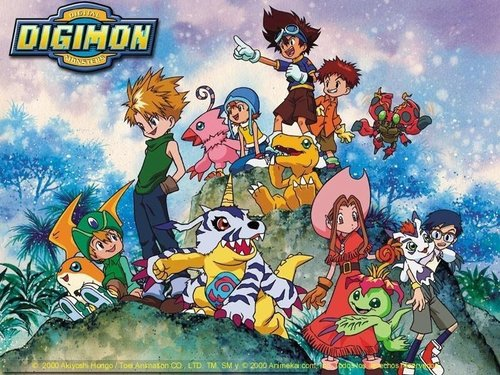 digmon advanture group - digimon Wallpaper